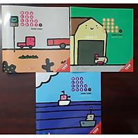 Combo 3 cuốn Ehon Nhật Bản Hãy cẩn thận nhé Dành cho trẻ 0 - 3 tuổi
