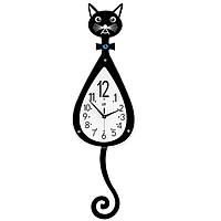 Đồng hồ treo tường con mèo dễ thương