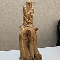 Tượng gỗ Ông Thọ phong thủy