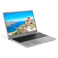 F18 15.6 inch Laptop Intel Celeron J4115 Processor 8GB DDR3 RAM 512GB M.2 SSD Portable Business Office Laptop Silver EU
