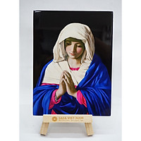 Tranh Đức Mẹ  cầu nguyện