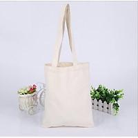 Túi Tote basic Túi vải bố vải canvas xinh đẹp sử dụng để đồ cá nhân, quảng cáo,in LOGO quà tặng