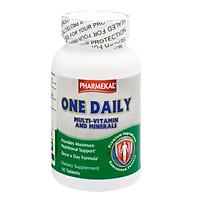 Viên Uống Bổ Sung Vitamin Và Khoáng Chất Pharmekal One Daily Multivitamin And Mineral (60 Viên) - Vàng