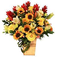 Hộp hoa tươi - Nghĩa Nặng Tình Dày 4036
