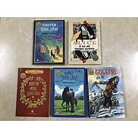 Combo 5 cuốn tác phẩm chọn lọc văn học Anh: Khúc ca mừng giáng sinh, Chuyện rừng xanh, Gulliver du kí, Alice ở xứ sở trong gương, Hắc tuấn mã