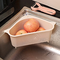 Giỏlọc thoát nước đa năng treo bồn rửa bát, rổđựng thực phẩm, dụng cụ rửa chénkhông cần khoan tường
