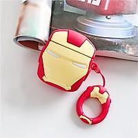Case Ốp Silicon Bảo Vệ Cho Apple AirPods / AirPods 2 Iron Man