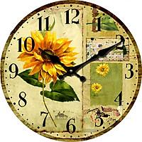 Đồng hồ treo tường Vintage size 23cm DH44