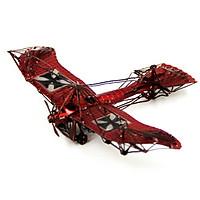 Mô hình thép 3D tự ráp máy bay cổ màu