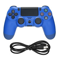 Wireless Bluetooth Gamepad Dual Shock Joystick Game Controller With 3.5mm Audio Port Compatible with Sony PS4 Controller