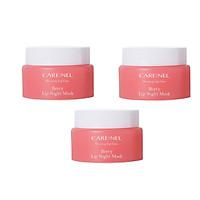 Combo 3 hũ Mặt nạ ngủ môi khóa ẩm và mềm mịn hương dâu Care:nel Lip Sleeping Mask Berry 5ml ( hồng)