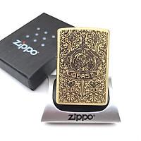 Bật lửa Zippo đồng khắc 5 mặt - Zippo USA đồng khắc hoa văn BEAT full box