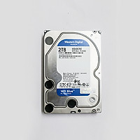 Ổ Cứng HDD WD Blue 2TB - SATA 6GB/s - WD20EZRZ - Made in Thailand