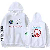 Fun Travis Scotts ASTROWORLD Long Sleeve Printing Hoodie Casual Loose Tops Hooded Sweater