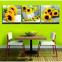 Bộ tranh phòng ăn sang trọng - Tranh canvas
