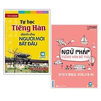 Combo Sách Học Tiếng Hàn: Tự Học Tiếng Hàn Dành Cho Người Mới Bắt Đầu + Ngữ Pháp Tiếng Hàn Bỏ Túi (tặng kèm bookmark thiết kế)