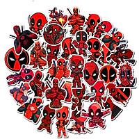Bộ 35 miếng Sticker hình dán Siêu nhân lầy lội
