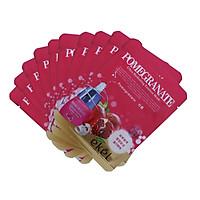 Combo 10 Miếng Mặt Nạ Dưỡng Da Lựu Ekel Pomegranate Ultra Hydrating Essence Mask (25ml x 10)