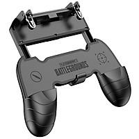 Bộ gamepad nút hỗ trợ chơi game PUBG Rock Handle cho điện thoại - Hàng chính hãng