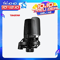 TAKSTAR TAK35 Professional Recording Microphone Condenser Cardioid Mic with Metal Windscreen Shock Mount for Network