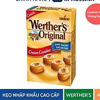 [Giao Nhanh 2H] Kẹo Caramen Kem Hiệu Werther'S Original (Không Đường) 42G