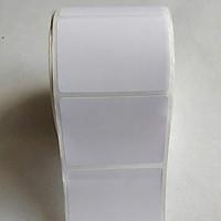 10 Cuộn decal nhiệt 58x40mm, Cuộn 30m sử dụng cho tem cân, tem trà sữa - Hàng nhập khẩu
