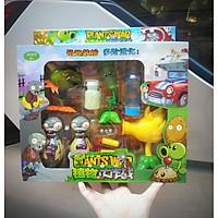 Bộ đồ chơi phụ kiện phiên bản bi nước (bi thạch) tích hợp bi nhựa và xốp dài, cây có đèn sáng cho trò chơi búp bê hoa quả nổi giận plants vs zombies