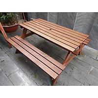 Băng ghế gỗ dầu chữ A