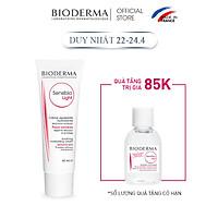 Kem Dưỡng Ẩm Làm Dịu Da Bioderma Sensibio Light - 40ml
