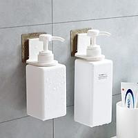 Bộ 3 Móc Dán Siêu Dính Treo Nước Rửa Tay, Dầu Gội, Dầu Xả, Sữa Tắm Tiện Lợi (Hàng Loại 1)