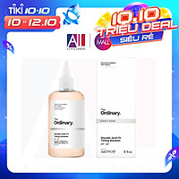 Nước hoa hồng tẩy da chết AHA The Ordinary Glycolic Acid 7% Toning Solution - 240ml