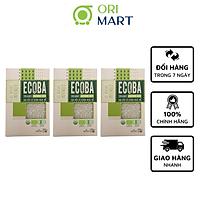 Combo 3 Gạo Hữu Cơ Ecoba Ngọc Mễ - Ecoba Organic Jasmine Rice 1kg