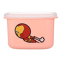 Hộp nhựa bento Miniso in hình Marvel - Hàng chính hãng
