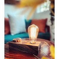 Đèn ngủ - đèn trang trí gỗ phong cách Bắc Âu