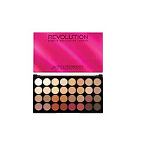 Bảng mắt Makeup Revolution Ultra 32 Eyeshadow Palette Flawless 3 - Resurrection (Bill Anh)