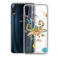 Ốp lưng In Nổi Họa Tiết cho điện thoại Zenfone Max Pro M2 - 01219 8042 TAURUS 01 - Cung Kim Ngưu - Silicone Dẻo - Hàng Chính Hãng