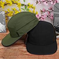 Combo 2 mũ lưỡi trai nón kết sơn vải dù 2 lớp thời trang nam nữ cao cấp