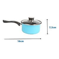 Quánh chống dính đáy từ 1 tay cầm The Best Cook Ware size 16cm dùng được tất cả các loại bếp (Induction)