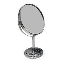 Gương Trang Điểm Để Bàn 2 Mặt - Xoay 360 độ