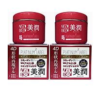 Combo 2 hộp kem dưỡng trắng tái tạo da Platinum Label Nhật bản ( 175g) - HÀNG NỘI ĐỊA