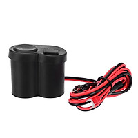 Motorcycle 2 in 1 Mobile Phone Charger Cigarette Lighter, Waterproof