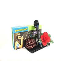 """Micro có dây """"SHUBOSS 959Plus"""" karaoke cao cấp - SẢN PHẨM CHÍNH HÃNG"""