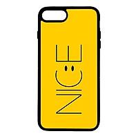 Ốp lưng dành cho Iphone 8 Plus N.I.C.E Vàng - Hàng Chính Hãng