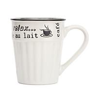 Ly Cốc sứ uống cà phê - trà cao cấp Cafe Relax 400ml