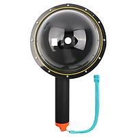 Dome port cho camera gopro hero 5, 6, 7 - Hàng nhập khẩu