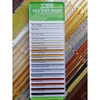 Bảng màu keo chít mạch Saveto - 18 màu