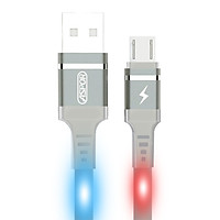 Cáp sạc USB-Micro 2.4A & Data đèn LED chớp theo âm thanh A181 - Hàng chính hãng