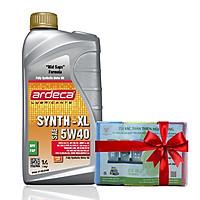 Nhớt dùng cho xe Hơi - xe Tay Ga Ardeca SYNTH-XL 5W40 (1l) + Tặng Tặng kèm bịch túi rác