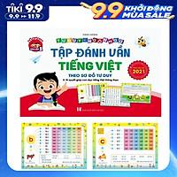 Tập Đánh Vần Tiếng Việt - Theo Sơ Đồ Tư Duy - Phiên bản mới nhất 2021