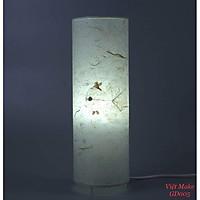 Đèn giấy dó cá vàng bồ đề, đèn trang trí nội thất, đèn để bàn phòng ngủ hàng chính hãng.
